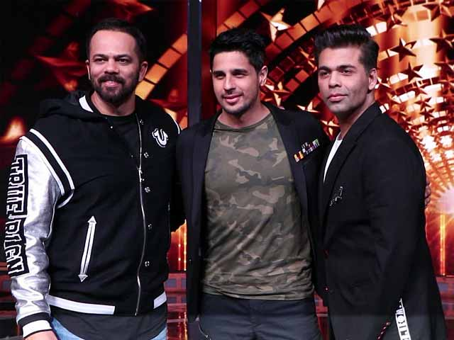 Sidharth Malhotra With KJo & Rohit Shetty On India's Next Superstars