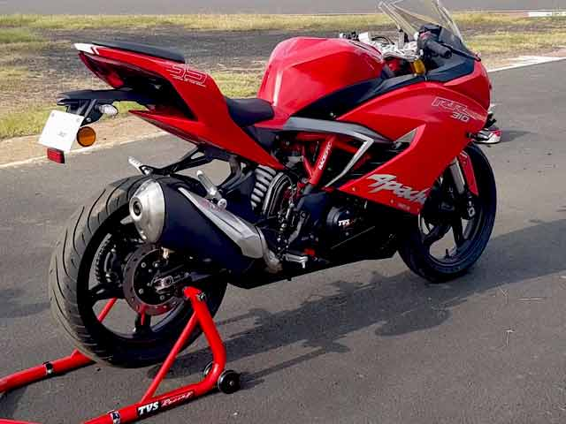 The All-New TVS Apache RR 310