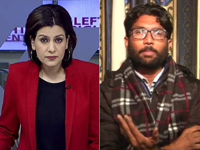 Video : I Am A Youth Leader, Born In A Dalit Family: Jignesh Mevani To NDTV