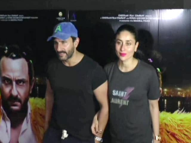 Saif, Kareena & Other Stars At The Screening Of Kaalakaandi