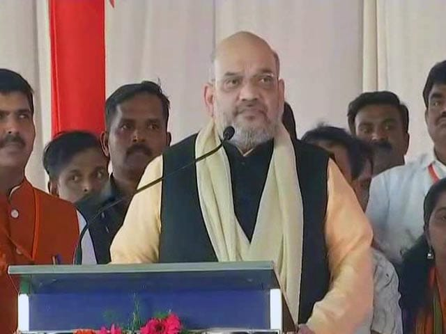 "Video : Siddaramaiah Government ""Anti-Hindu"", Says Amit Shah In Karnataka Rally"