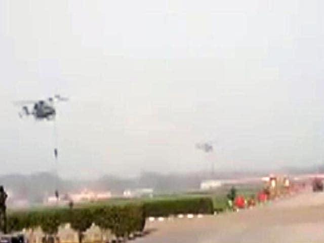 Video : आर्मी-डे परेड की रिहर्सल के दौरान 3 जवान घायल