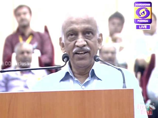 "Video : ISRO Launches Its 100th Satellite, Says ""New Year's Gift"""