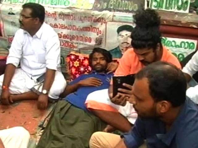 Video : Hundreds Turn Up To Support Kerala Man Protesting For Over 700 Days