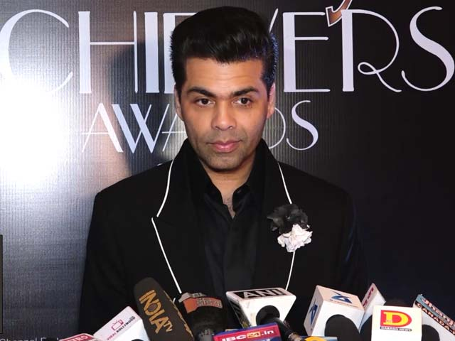 Karan Johar On Hosting Kangana Ranaut On His TV Show