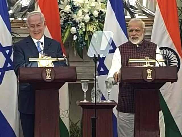 Video : Joint Statement By PM Modi, Israel's Benjamin Netanyahu