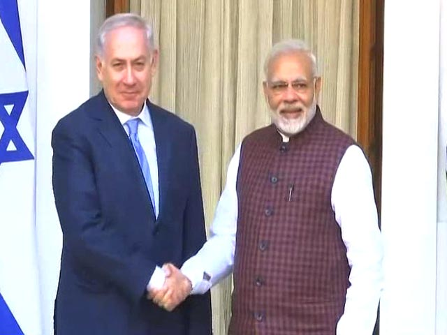 "Video : ""You're A Revolutionary,"" Benjamin Netanyahu To PM Modi"