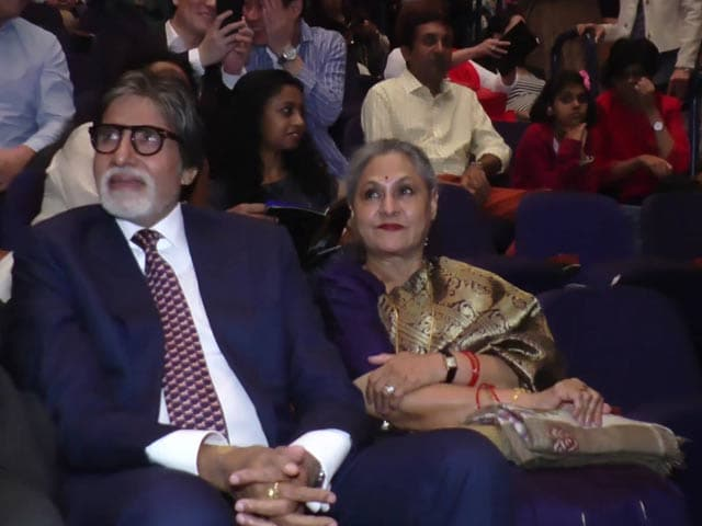Amitabh & Jaya Bachchan Attend Paris Ballet Legends In Mumbai