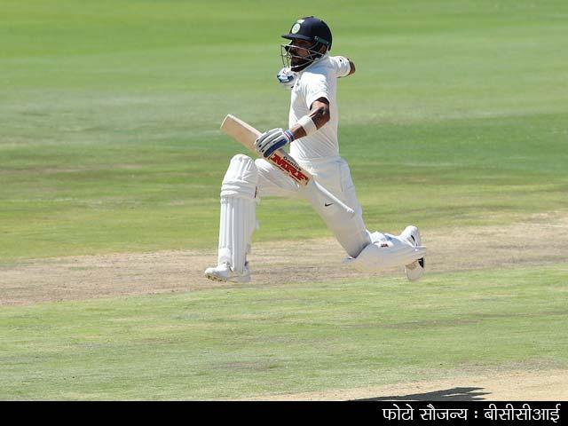 Videos : कोहली के शतक की बदौलत भारत ने पहली पारी में बनाए 307 रन