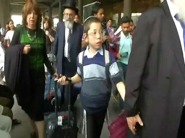 Video : 9 Years After Parents Died In 26/11 Attacks, Moshe Arrives In Mumbai