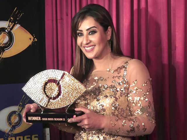 'I Am A Stronger Person After Winning Bigg Boss' - Shilpa Shinde