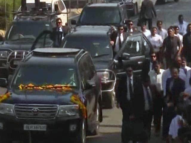 Video : Narendra Modi-Benjamin Netanyahu Gujarat Roadshow