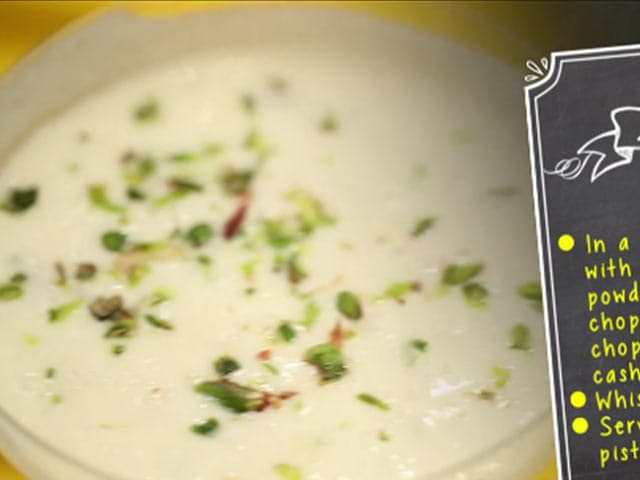 Video : Piyush: A Rich Creamy Drink That Beats The Heat