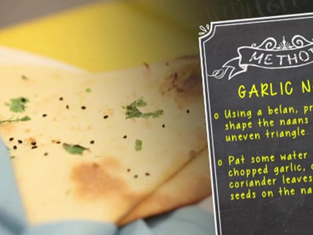 Video : Kunal Kapoor's Secret OTG Garlic Naan Recipe!