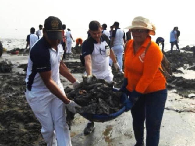 Video : Versova Beach Clean-up Goes Big Yet Again, Here's How