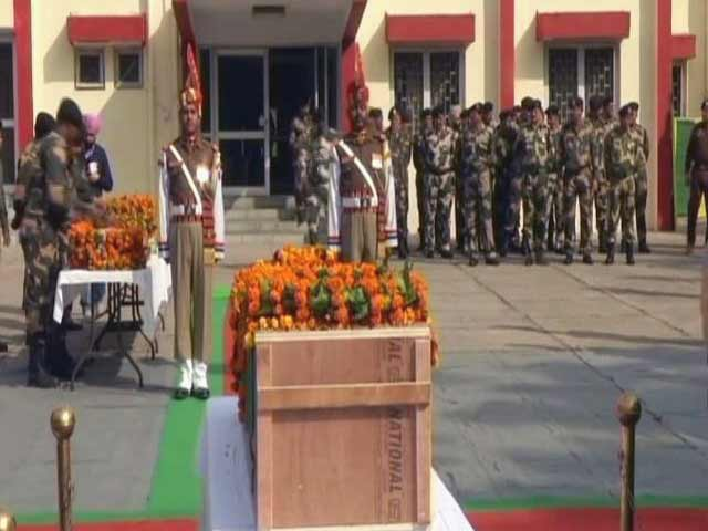 Video : BSF Jawan Killed In Ceasefire Violation By Pak Troops In Jammu's RS Pura Sector