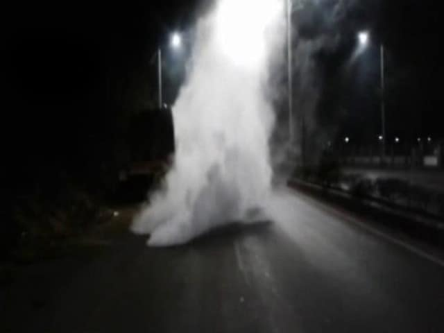 Video : Goa Village Evacuated After Tanker Carrying Ammonia Overturns