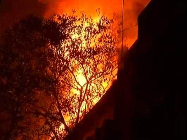 Video : Fire Breaks Out At Navrang Studio In Mumbai's Lower Parel