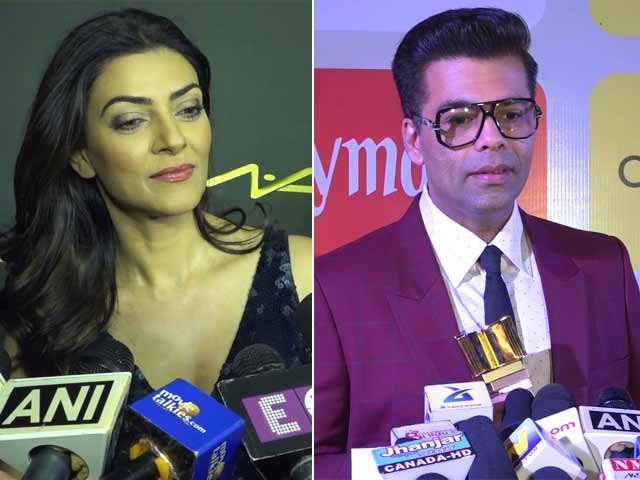 Video : Bollywood Reacts: Karan Johar & Sushmita Sen On <i>Padmaavat's</i> Release