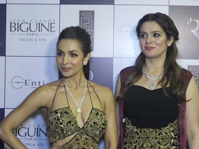 Malaika Arora Walks The Ramp For Designer Rebecca Dewan