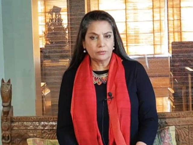 Shabana Azmi Speaks On Padmaavat Row