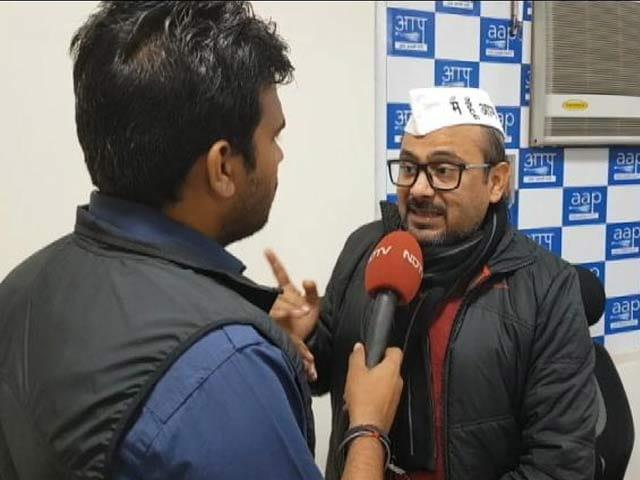Video : पूरा देश जानता है आम आदमी पार्टी को परेशान किया जा रहा है: दिलीप पांडे