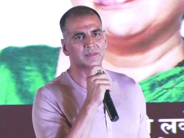 Video : Akshay Kumar Speaks In Marathi To Woo Mumbaikars