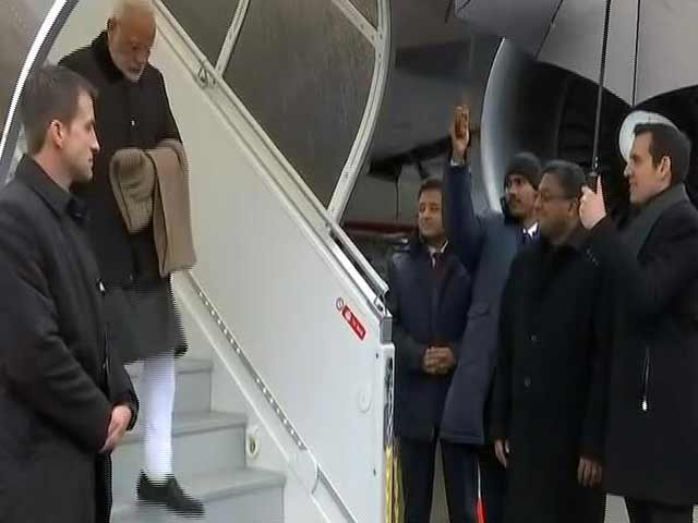 Videos : न्यूज टाइम इंडिया: विश्व आर्थिक फोरम में हिस्सा लेने दावोस पहुंचे PM मोदी