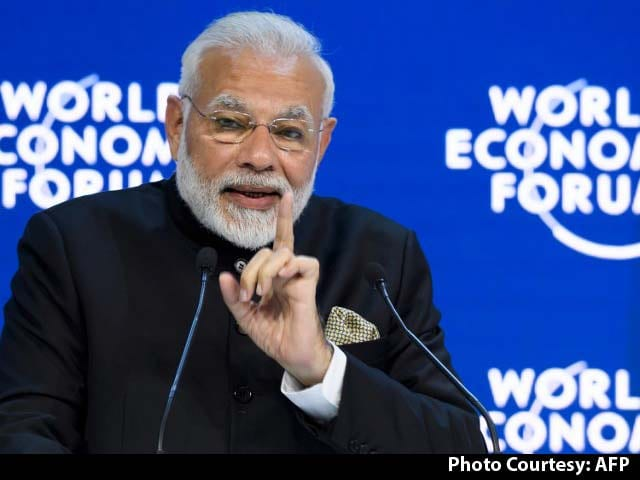 Video: PM Modi Addresses World Leaders, CEOs At Davos