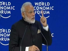 """Video: """"Red Tape Out, Red Carpet In,"""" PM Modi Tells Global CEOs"""