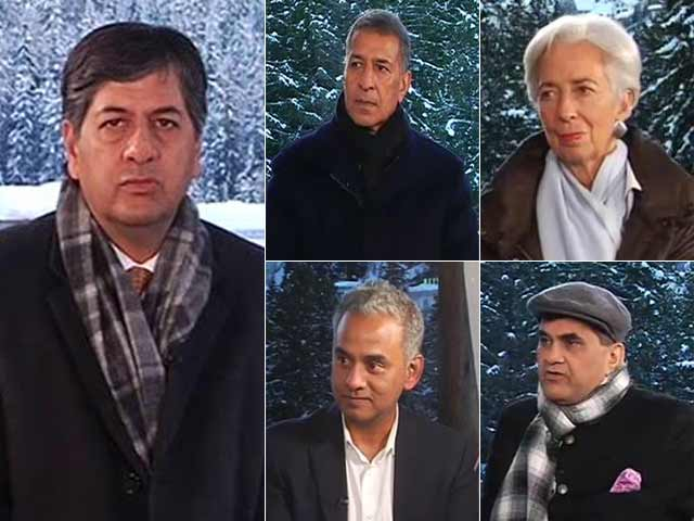 Video : India's Growth Story In Davos: Economy Back On The Track?
