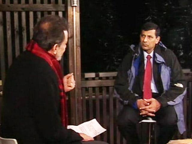 "Video : ""We Had Two Big Headwinds"": Raghuram Rajan On Slowdown"
