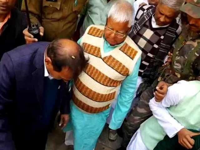 Video : Lalu Yadav Gets 5 Years In Jail In Third Fodder Scam Case