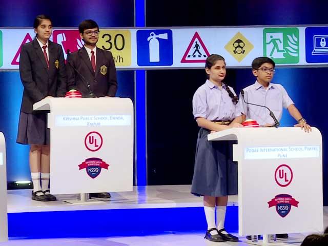 National Safety Science Quiz 2017: Semi-Final Round Three