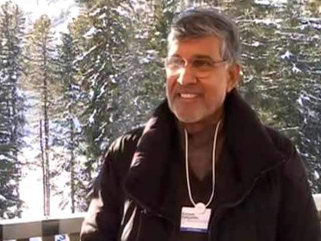 Video: Schooling, Safe Life Must For Every Child: Kailash Satyarthi Tells NDTV At Davos