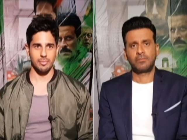 Video : Sidharth Malhotra Hopes <i>Aiyaary</i> Encourages Youth To Join Army