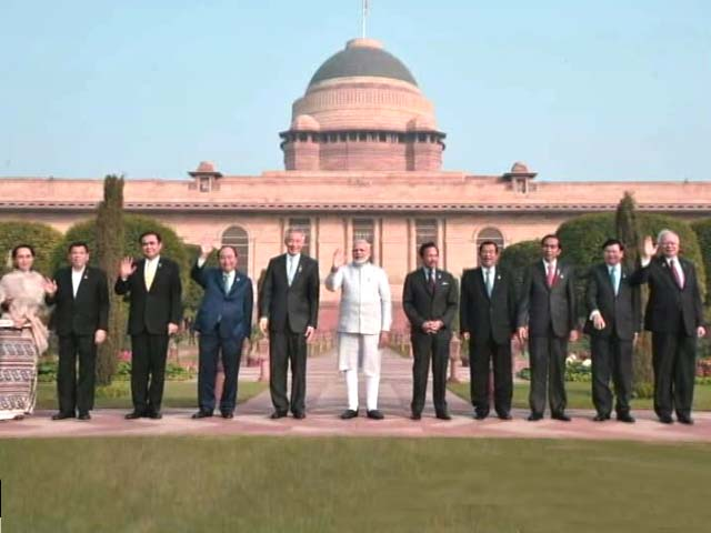 Video : ASEAN Leaders As Chief Guests, 100-Ft Wide Stage For Republic Day Parade