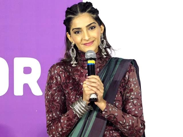 Video : I Was Taught About Hygiene But Not About Menstrual Health: Sonam Kapoor