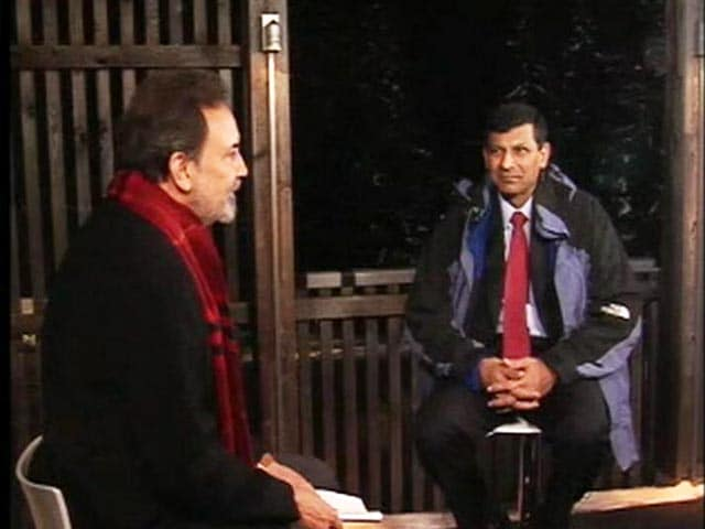 Video : Raghuram Rajan Talks To Prannoy Roy About His 2018 Forecast For India