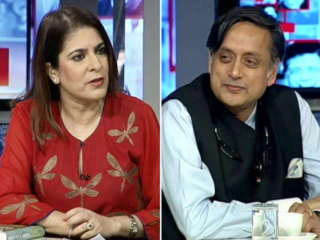 Video : The NDTV Dialogues With Shashi Tharoor