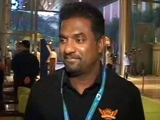 Video : IPL 2018 Auction: We Got The Side That We Wanted, Says SRH's Muralitharan
