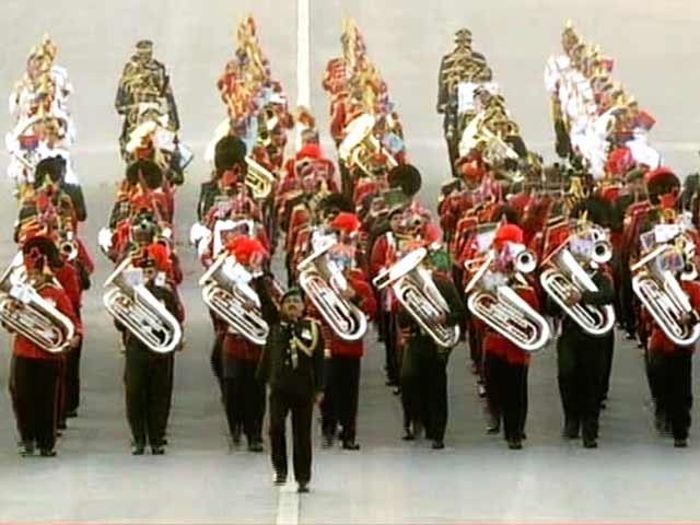 Video : Grand Beating Retreat Ceremony Caps Republic Day Celebrations
