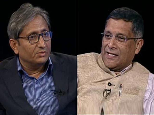 Videos : आर्थिक समीक्षा 2017-18: मुख्य आर्थिक सलाहकार अरविंद सुब्रमण्यम से रवीश कुमार की खास बातचीत