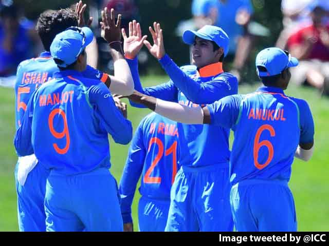 U-19 World Cup: India Crush Pak By 203 Runs, Face Australia In Final