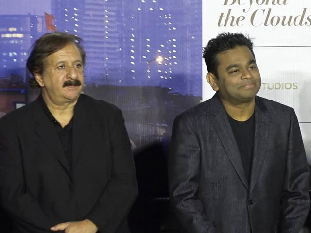 AR Rahman & Majid Majidi At The Trailer Launch Of Beyond The Clouds