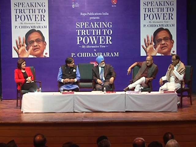 Video : Opposition Will Unite For 2019 Polls, Says P Chidambaram