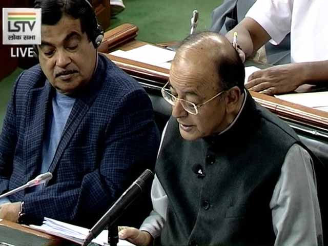 "Video : Arun Jaitley Presents Budget, Says ""There's Premium On Honesty"""