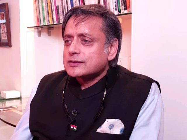 Video : Shashi Tharoor On Why He Believes Hindutvawadis Are Not True Hindus