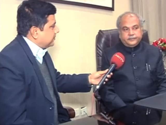 Videos : बजट 2018 : केंद्रीय ग्रामीण विकास मंत्री नरेंद्र तोमर से खास बातचीत