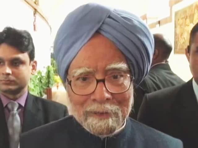 Videos : अर्थव्यवस्था की सुनहरी तस्वीर दिखाने की हद है : डॉ. मनमोहन सिंह